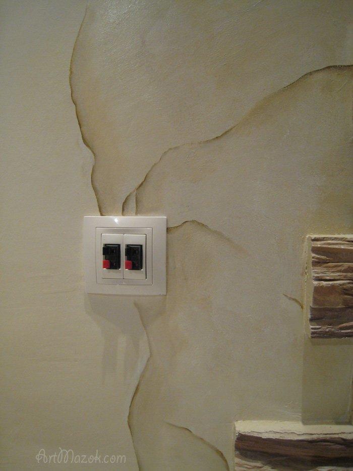 Фрески на стену в интерьере фото