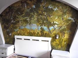 Стен в интерьере • 3d рисунки на стенах