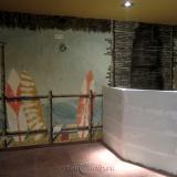 Кафе бар HAPPY BOB • рисунки на стенах