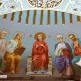 Роспись храма и церкви • видео процесса