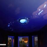 Роспись потолка светящимися красками