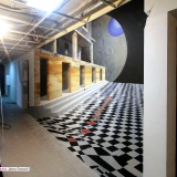 3d рисунки на стенах • Москва