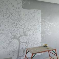 Три способа изготовления трафаретов для росписи стен