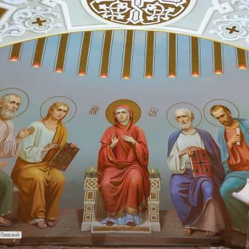 Роспись храма в Ставрополе + видео процесса