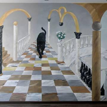 Художественная роспись стен в СПб (+видео)