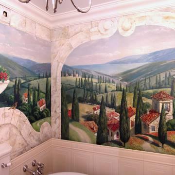 Дизайн ванной • итальянский стиль