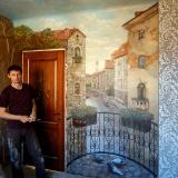 Роспись стен в интерьере • Венеция