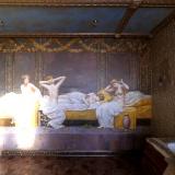 Роспись ванной - картина с купальщицами • Москва