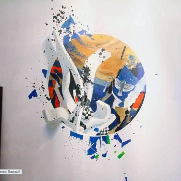 Рисунки на стенах в квартире | СПб