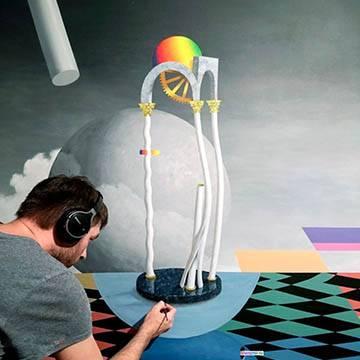 Рисунки на стенах интерьера | Москва