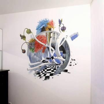 Розы в спальне • абстракция