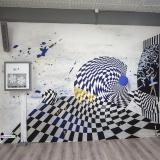 Роспись стен в танцевальном зале