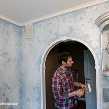 Декоративная покраска стен • ЦЕНЫ, ФОТО